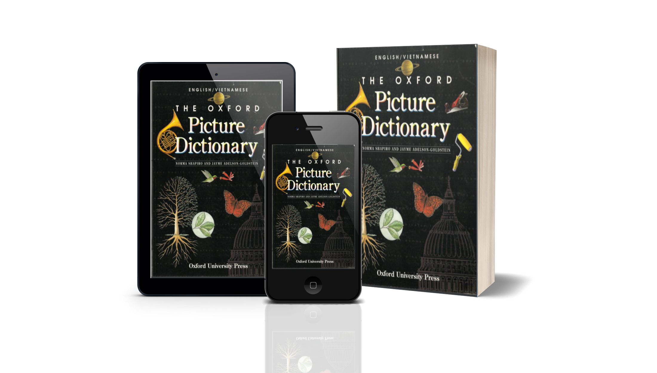 BOOK: THE OXFORD PICTURE DICTIONARY