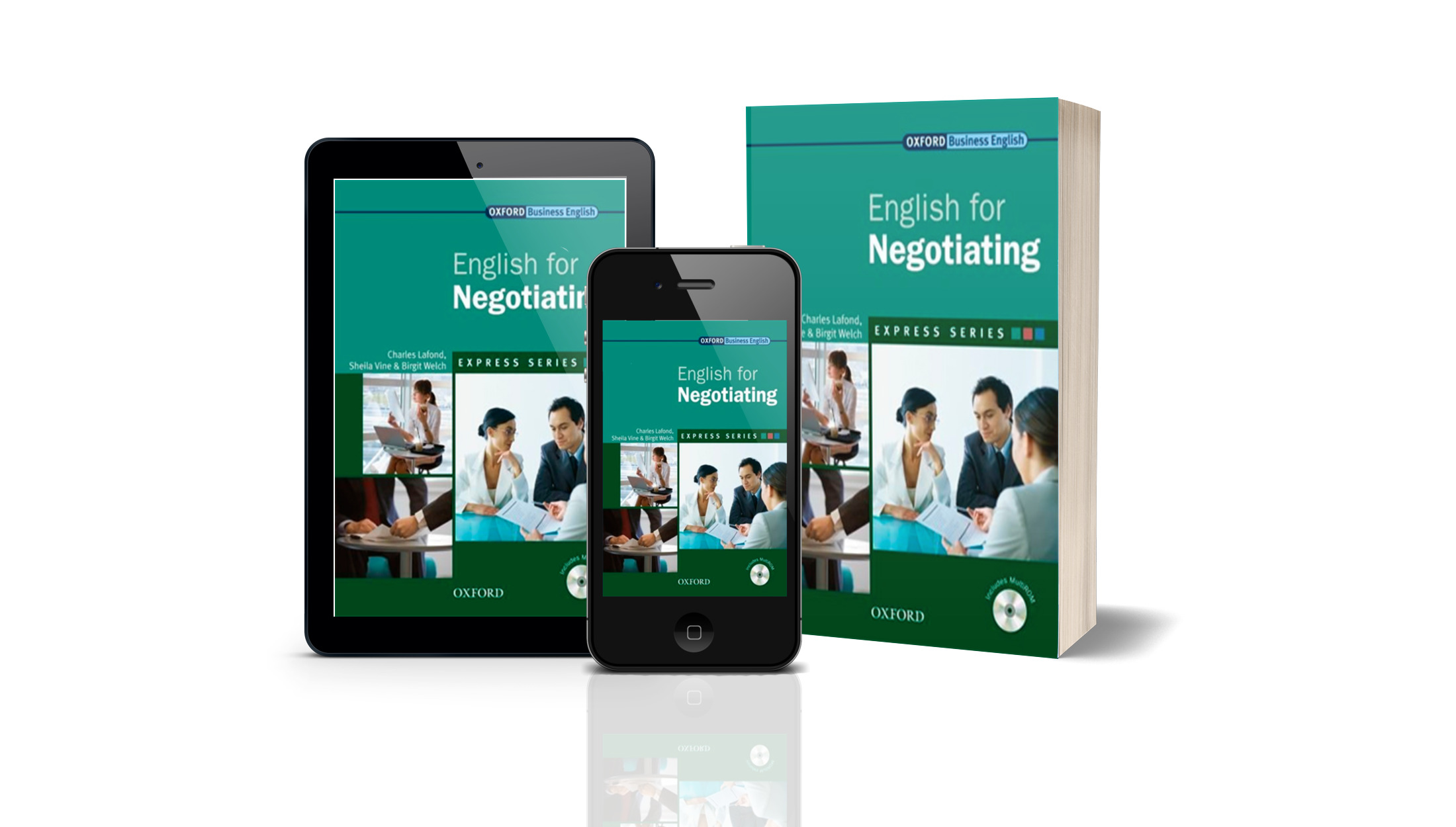 BOOK: ENGLISH FOR NEGOTIATING - OXFORD